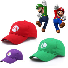 Super Mario Caps Odyssey Luigi Bros Hat Anime Baseball Cosplay Accessories Christmas Gifts Hats Dropshipping