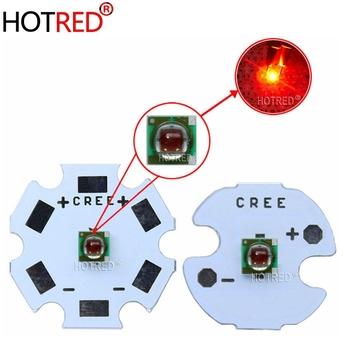 10 sztuk oryginalny Cree XPE XP-E R3 1-3W 3535 czerwona dioda LED emiter dioda czerwony 620-625nm LED roślin rosną emiter z 20 16 14 8mm płytka PCB tanie i dobre opinie HotRed Piłka 2-2 4 V CREE xpe red 620nm 350-1000mA