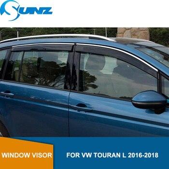 Window Visor for Volkswagen VW Touran L 2016-2018  side window deflectors rain guards for VW Touran L 2016-2018 SUNZ