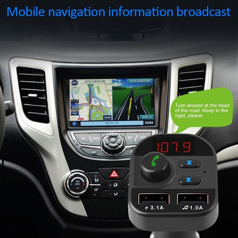 Multi-function Power Adapter Handsfree Wireless Bluetooth 5.1