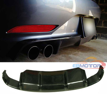 3D STYLE REAL CARBON FIBER REAR DIFFUSER FOR BMW Z4 E89 2009-2013 NORMAL MODEL B246 image