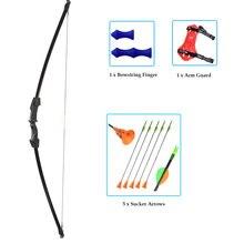 Лук для стрельбы из лука и стрела детей базовые банты стрелы