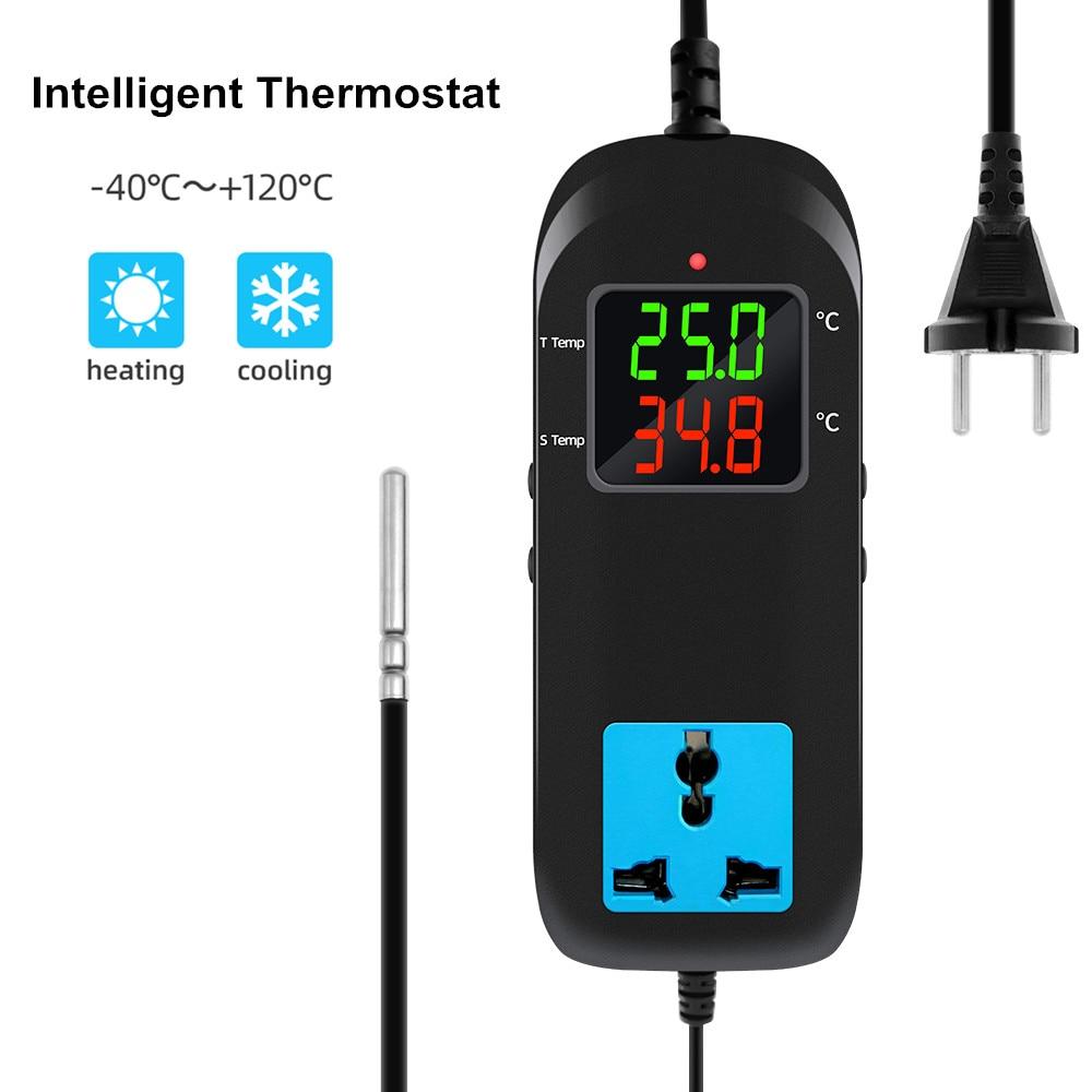 Qualität Elektronische Thermostat AC90V ~ 250V MH-2000 LED Digital Zucht Temperatur Regler Thermo Thermostat