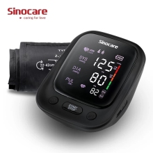 Monitor Arm-Blood-Pressure Digital Professional Sinocare Adjustable-Cuff 2-Users-Mode