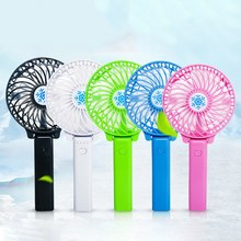 Summer Cooler Mini Handheld Fan USB Charging Personal Desk Fans Rechargeable Portable Office Outdoor Travel Energy Source(China)