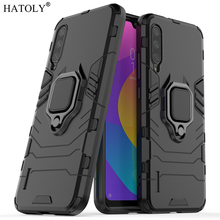 For Xiaomi Mi A3 Case Cover for CC9e Finger Ring Rubber Armor TPU PC Shell Hard Back Phone