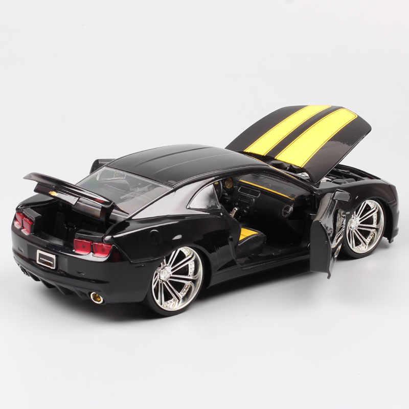 チャイルズ jada 1/24 スケール車 GM シボレーカマロ SS 2010 GM スポーツ筋肉金属 Diecasts おもちゃ車車モデルのコレクション