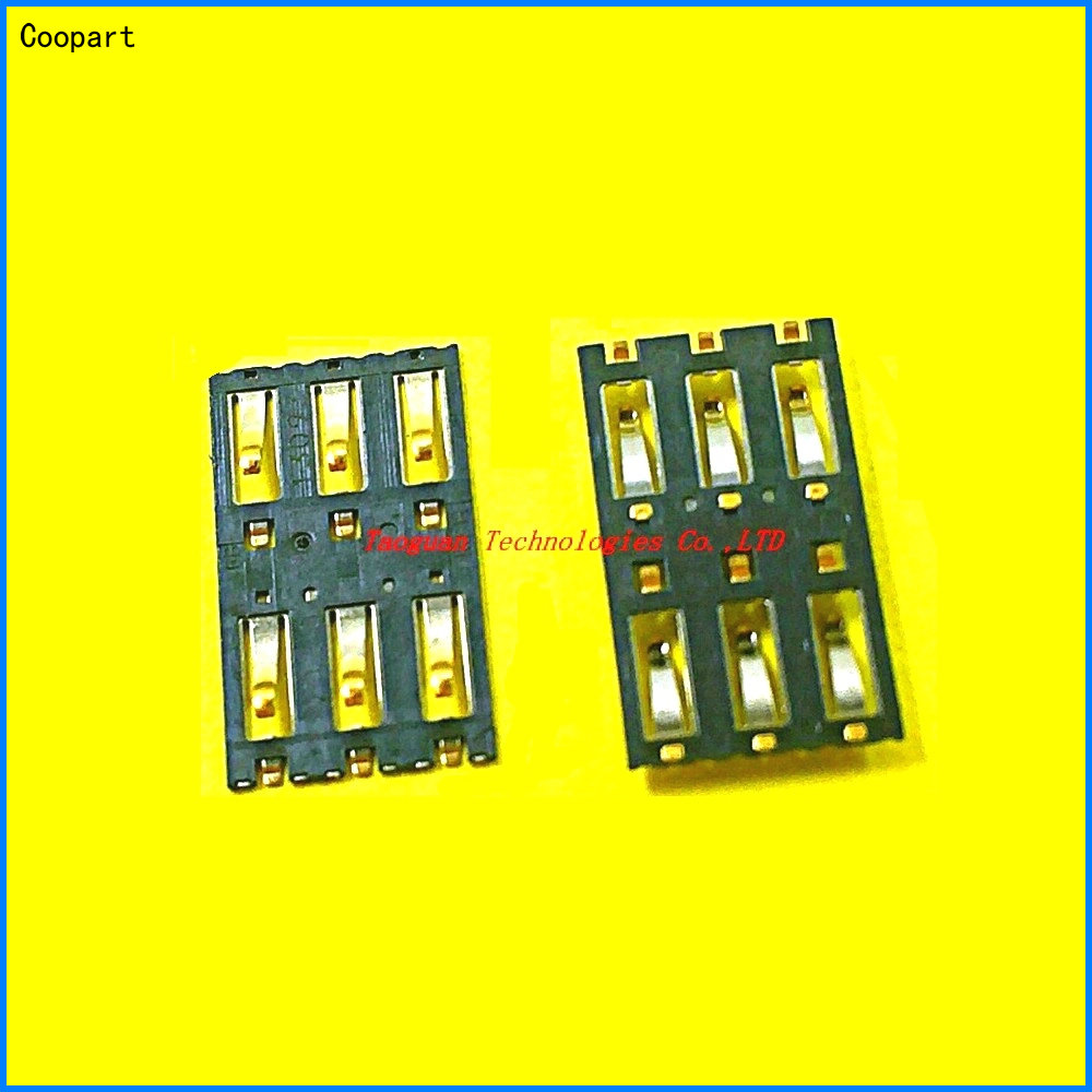 2pcs/lot Coopart New SIM Card Socket Slot Tray Reader Repair Parts For NOKIA N9 Lumia 800 1020 900 920 925 928 909 High Quality
