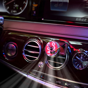 Image 3 - Новинка Youpin Sothing TITA проигрыватель фонограф автомобильный ароматизатор освежитель воздуха с 3 шт. сменных ароматерапевтических таблеток подарок