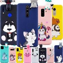 3D Kat Speelgoed Siliconen Cartoon Case Voor Huawei P40 P30 P20 P10 Lite P8 Lite 2017 P9 Lite 2017 P40 lite Pro Plus Soft Cover