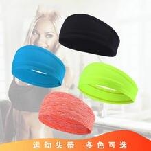Взрывная спортивная повязка на голову для мужчин и женщин Широкий