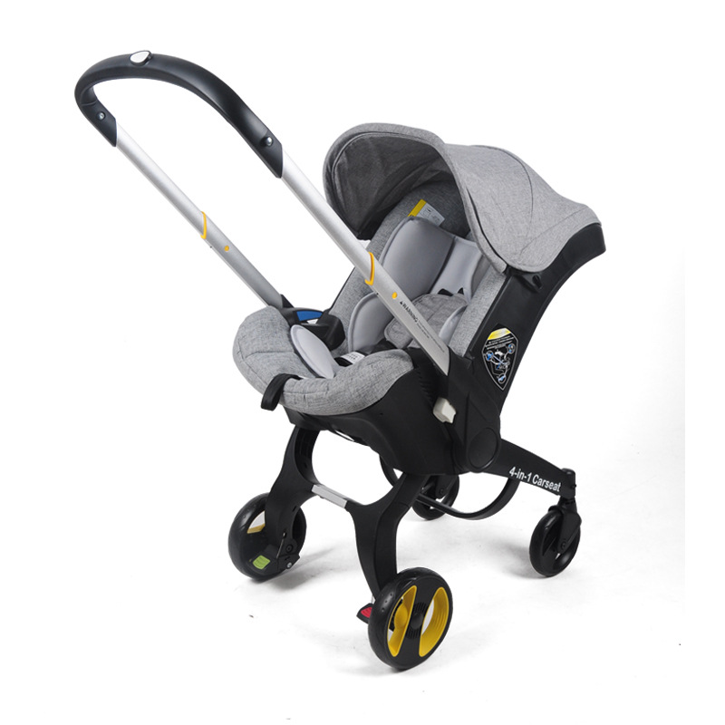 Multifunctional Car Seat Stroller Baby Carriage Basket Portable