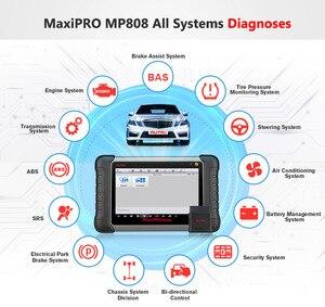 Image 4 - Autel MaxiPRO MP808 teşhis tarayıcı aracı OBD2 tarayıcı OBDII otomotiv araçları olarak MAXIDAS DS808 MaxiSys MS906 güncelleme DS708