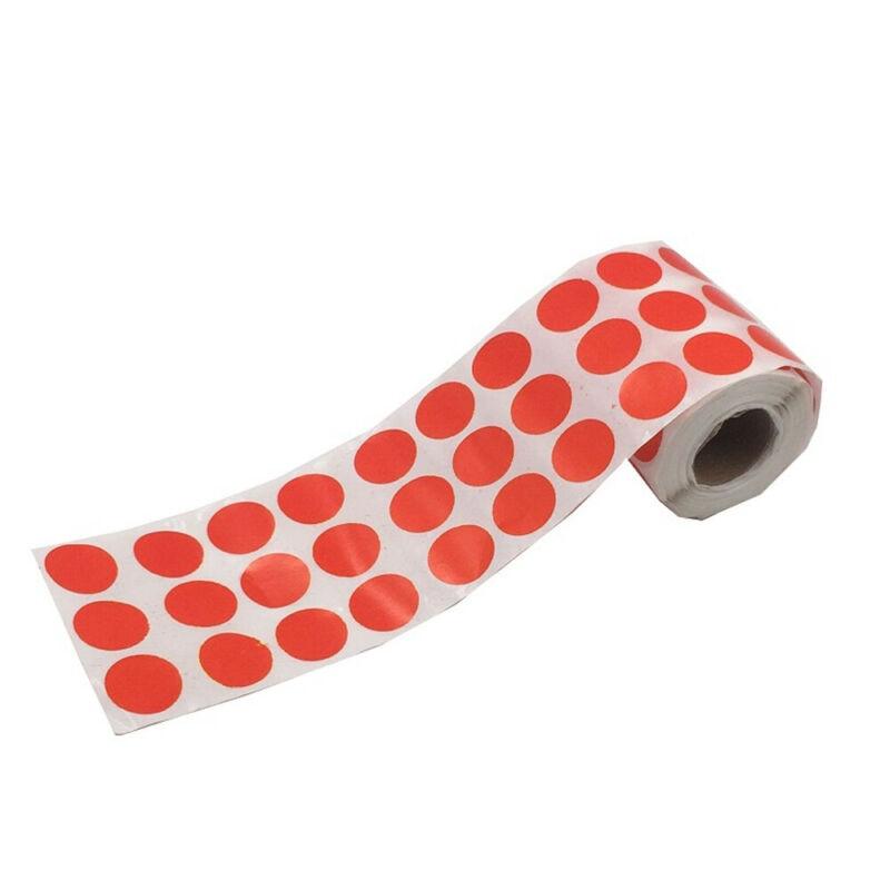 900pcs/Roll Splatter Target Sticker Self-Adhesive Splatter Targets Shooting 2019