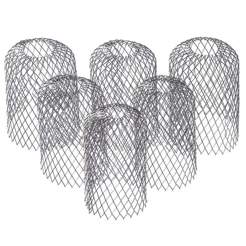 8-Pack Gutter Shield Expandable Stainless Steel Filter Strainer To Prevent Clogging Of Leaves And Debris