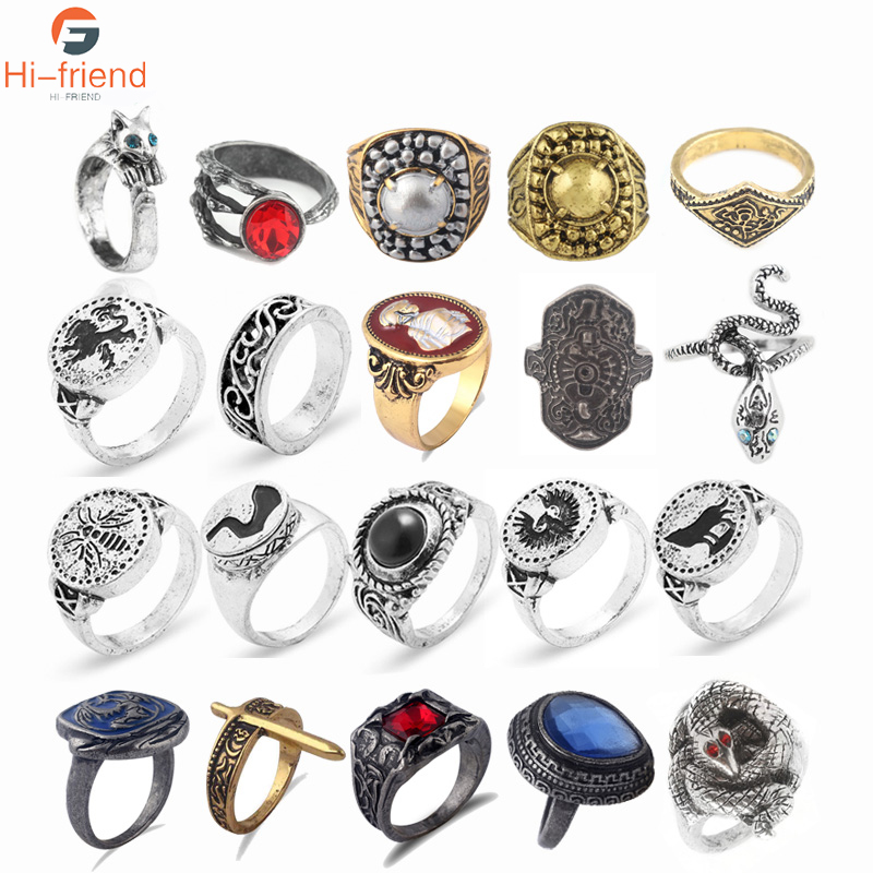SC Game Dark Souls 3 series Rings Cosplay Accessories Game fans Woman Men jewelry image