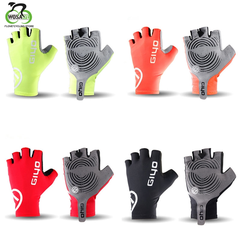GIYO Cycling Gloves Half Finger Mens Women's Summer Sports Shockproof Bike Gloves GEL MTB Bicycle Gloves Guantes Ciclismo