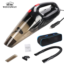 WINTUWAY Over 3000Pa Strong Suction Car Vacuum Cleaner Handheld Dry Wet 12V Spare Filter Auto Portable Vacuums Cleaner цена и фото