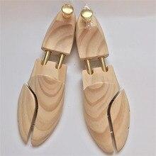 ZGZJYWM zapatos para hombres y mujeres árboles de doble tubo ajustable de Nueva Zelanda Pino árbol de zapatos de madera