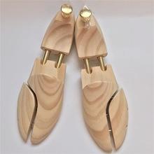 ZGZJYWM גברים של ונשים של נעל עצי תאום צינור מתכוונן ניו זילנד אורן עץ נעל עץ