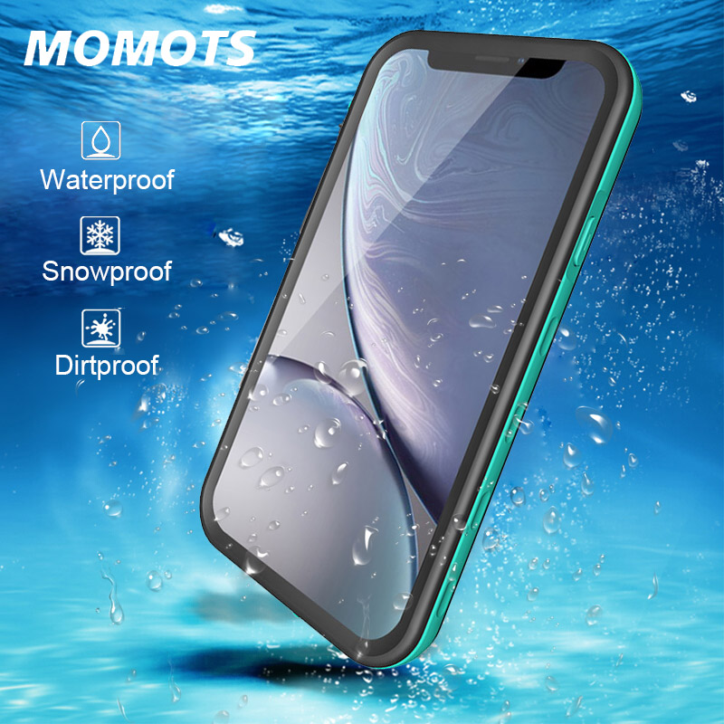 Iphone X Waterproof Case | MOMOTS IP68 Waterproof Case For IPhone X XR XS MAX Shockproof Swimming Diving Case For IPhone 8 7 6 Plus Coque
