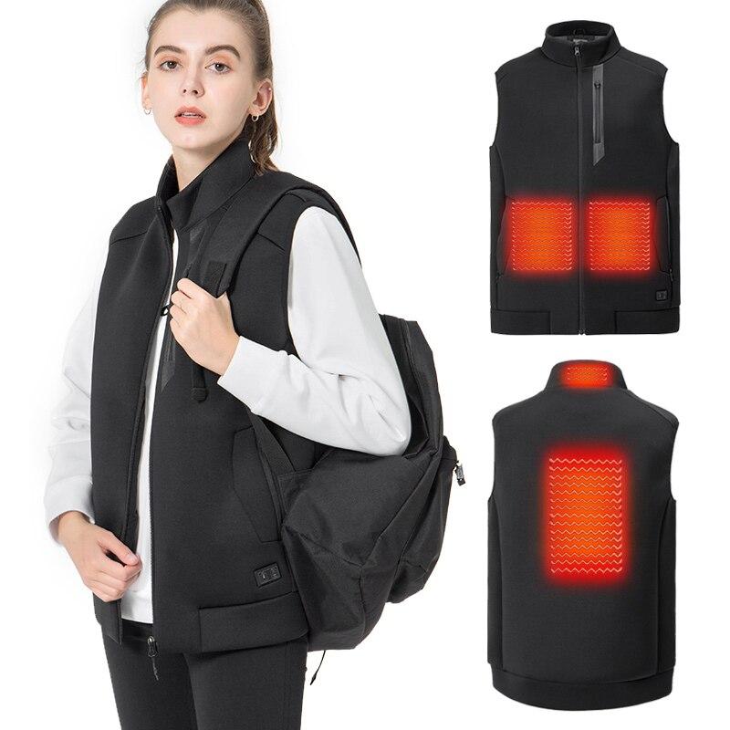 snowwolf 2019 inverno das mulheres aquecidas roupas de pesca usb infravermelho eletrico colete termico ao ar