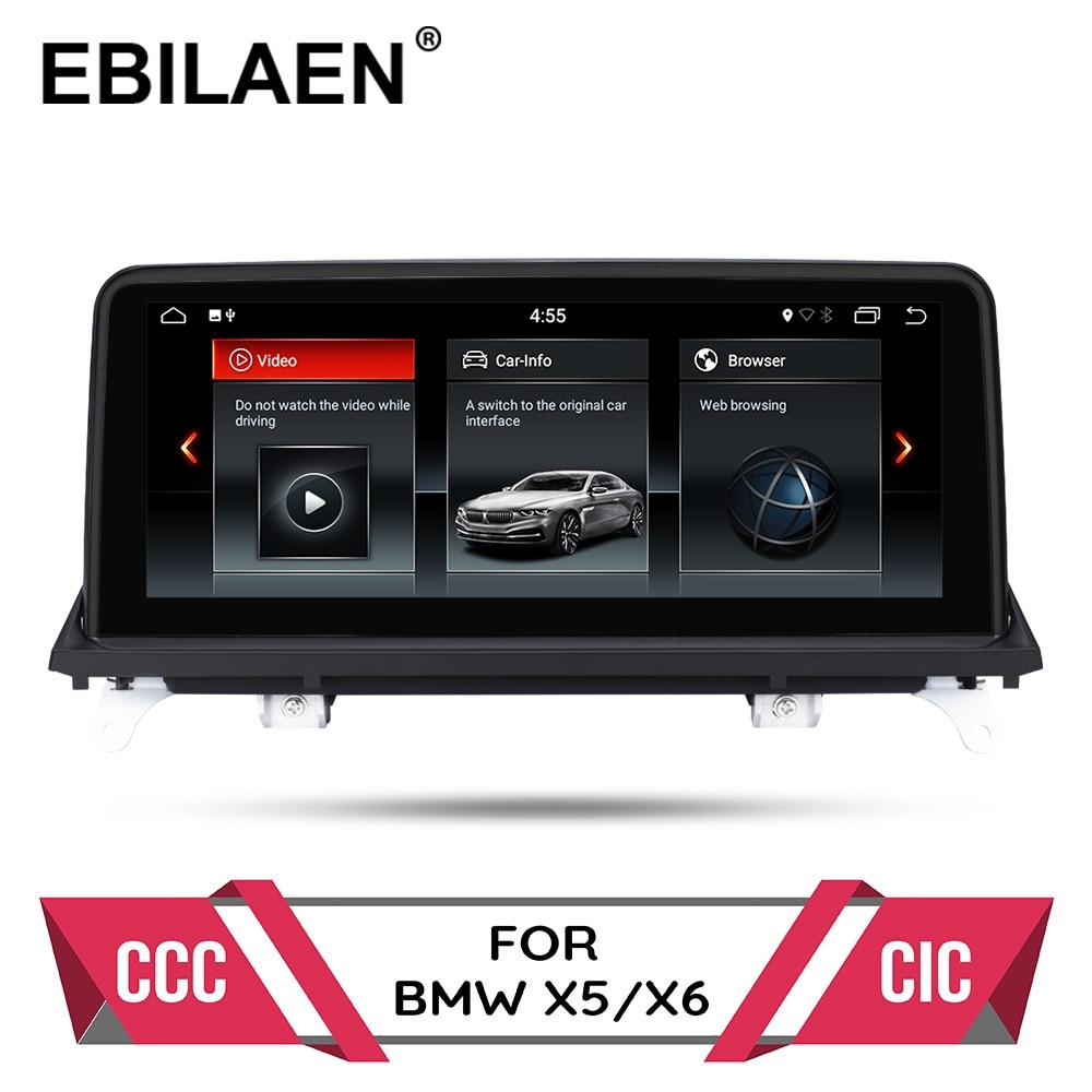Android 10,0 автомобильный dvd-плеер для BMW X5 E70/X6 E71 (2007-2013) CCC/CIC система Авторадио gps навигация мультимедиа головное устройство ПК