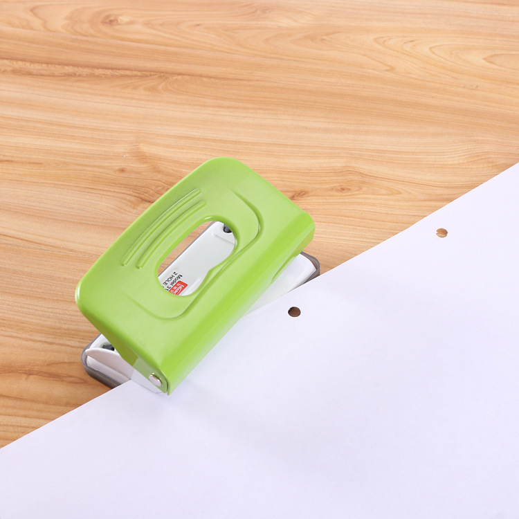 Drilling-Machine Excavator Office-Supplies Double-Hole-Punch Two-Hole Multi-Color Small