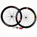 700c шоссейные колеса 50x23 мм Углеродные колеса powerway R13 столб 1432 дорожный клинчер колеса велосипеда