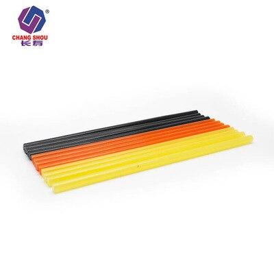Высококачественный термоплавкий пистолет для клея палка 7 мм 11 мм горячего расплава бар аксессуары для волос zhan jiao Банг высокая вязкость цветной блок клей