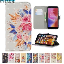 3D Painted Flip Book Case Shell For Xiaomi Redmi 5 Plus 5A N