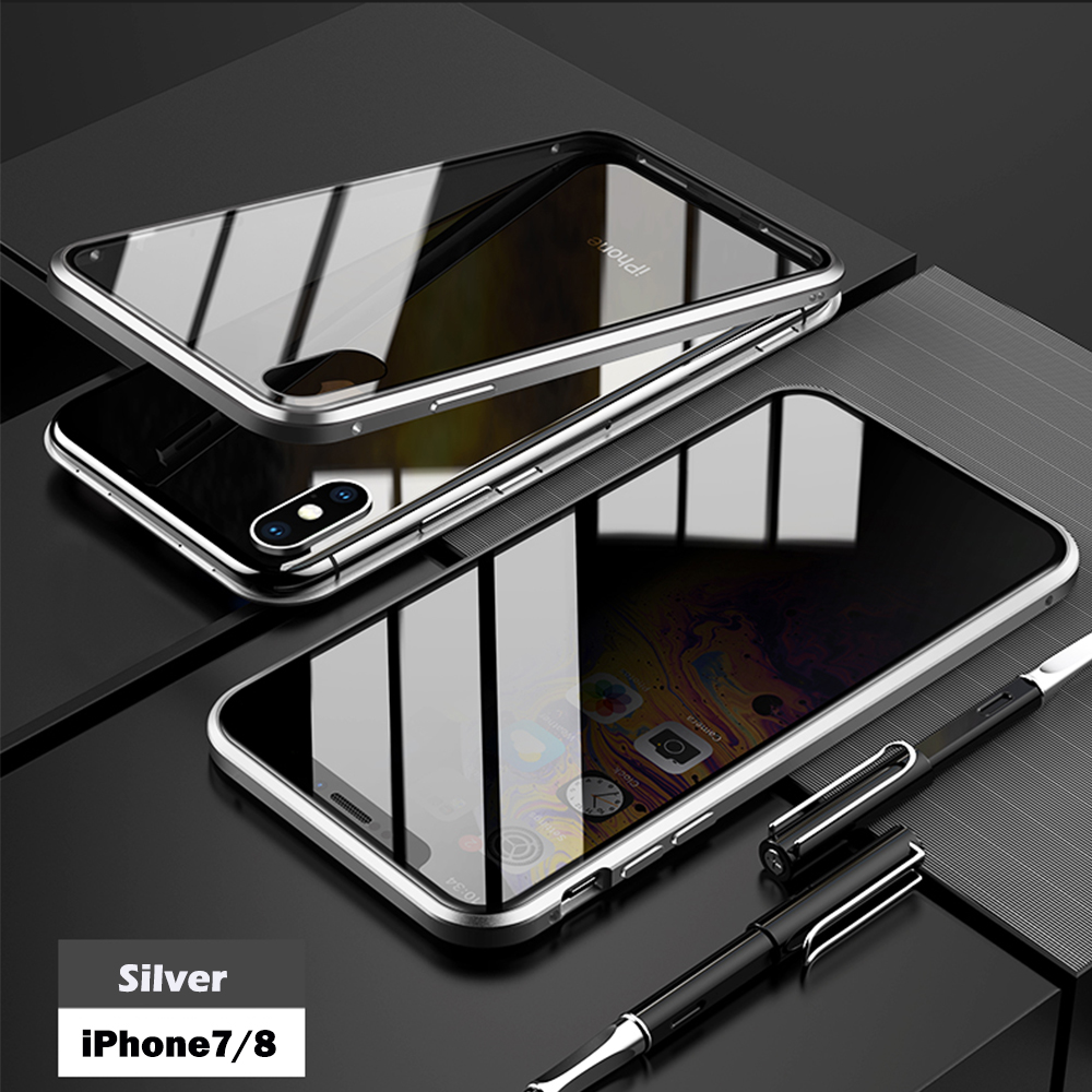 for iPhone7 8 silver