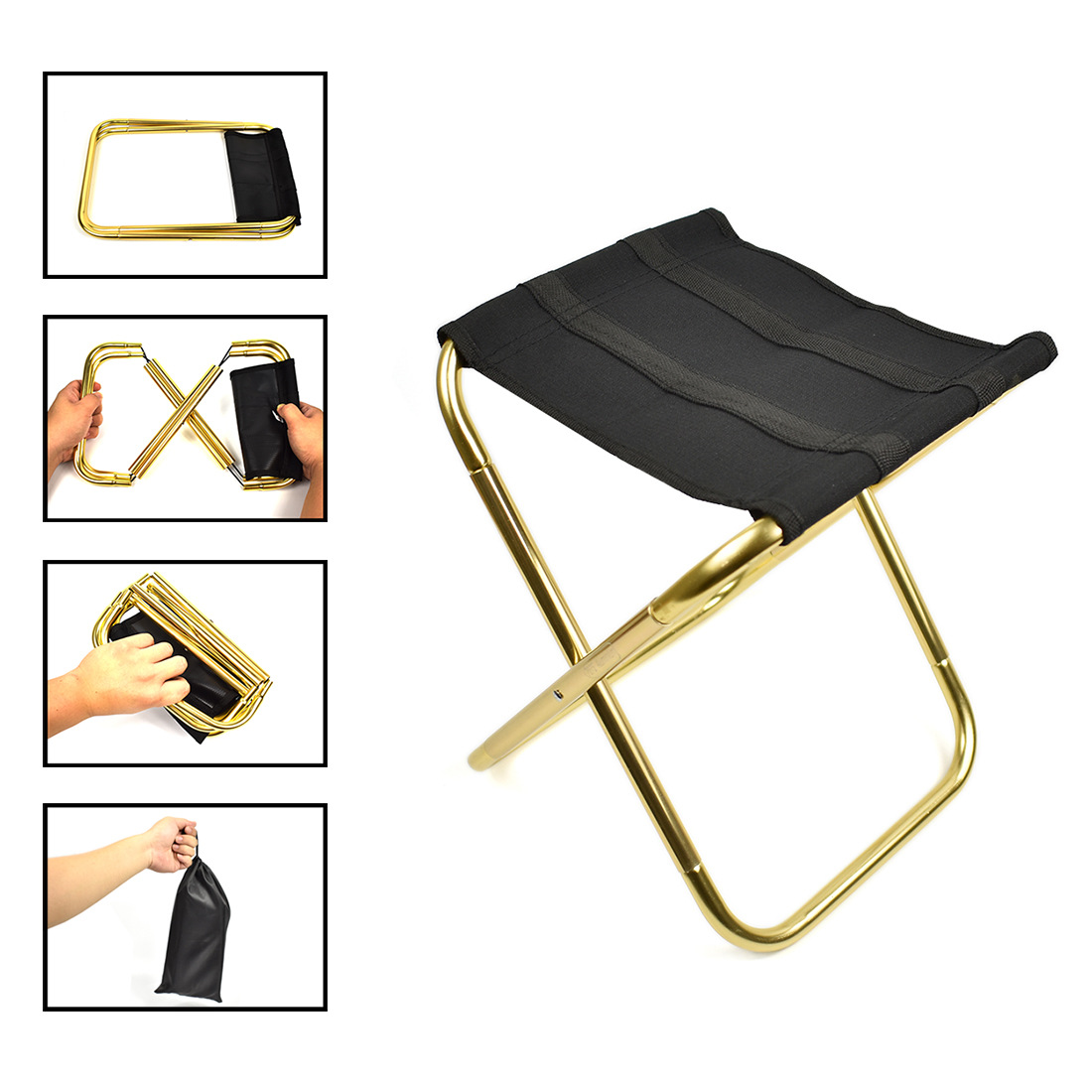 Camping Folding Tables And Chairs Camp Chair Outdoor Folding Chair 7075 Aluminium Alloy Fishing Chair Portable Barbecue Folding