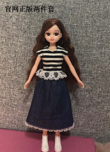 1/6 clothes For Dolls For Licca doll Momoko Doll Blyth doll clothes Jumpsuit dress suit For Girls Dolls 10