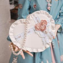 цена на Sweet princess lolita love bag vintage falbala cute decoration handbag kawaii girl gothic lolita shoulder bag loli cosplay