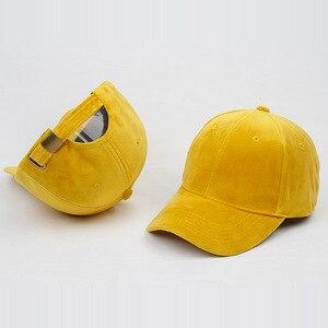 Image 5 - Marca de lujo, gorras de béisbol de terciopelo y algodón para hombres y mujeres, sombreros camionero deportivos, gorra de papá, sombrero de invierno para exteriores, sa 8