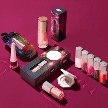 Nude colors Makeup Liquid lipstick Lip gloss Set 5 pcs Glossy Posse Mini Gloss Bomb Christmas Collection For Holiday 2019