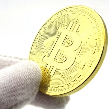1 sztuk kreatywny pamiątka pozłacane Bitcoin moneta kolekcjonerska wielki prezent Bit moneta kolekcja sztuki fizyczna złota pamiątkowa moneta tanie i dobre opinie CN (pochodzenie) Szkło Nowoczesne 2000-Present People Metal oins collectibles Commemorative Coins collectible coins original
