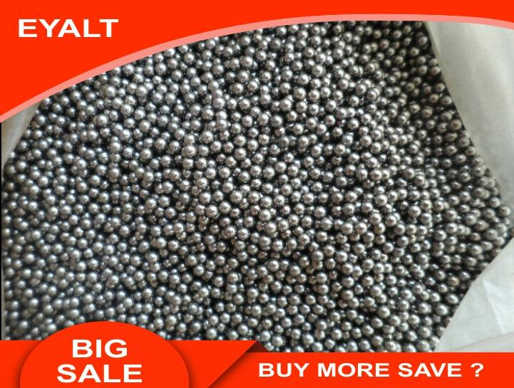 100 PCS 4MM Carbon Steel Balls For Hunting Slingshot Catapult Ammo Replacement Bike Bearing SlingShot Accessories