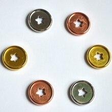 12 шт. 27 мм блокнот гриб отверстие кнопка пластиковые аксессуары диск Пряжка ручная книга переплет диски свободная кнопка A5 связующее