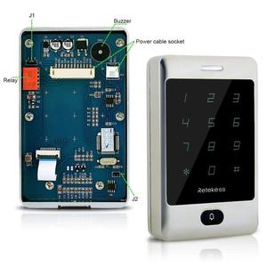 Image 5 - Retekess 2 шт. T AC01 RFID Контроль доступа сенсорная клавиатура система контроля допуска к двери 125 кГц KDL металлический чехол Корпус подсветка F9503D