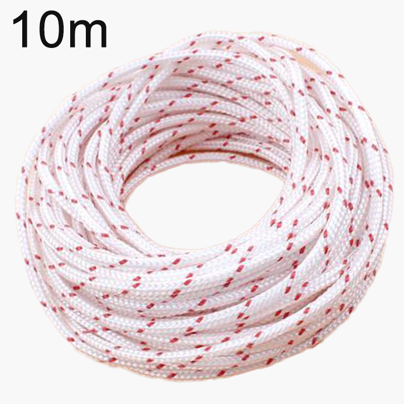 10M Heavy Nylon Pull Starter Rope Cord For Stihl MS180 MS181 MS210 MS230 MS250 260 MS290 For Strimmer Chainsaw Lawnmower Engine