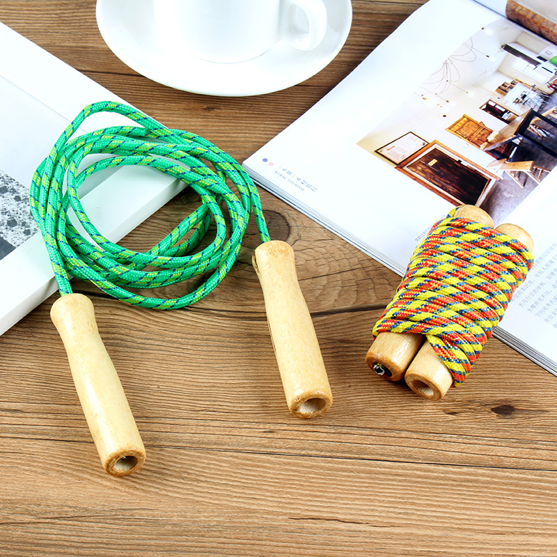 Fitness Jump Rope Female Sports Adult Students The Academic Test For The Junior High School Students Children Exercise Cotton Ru
