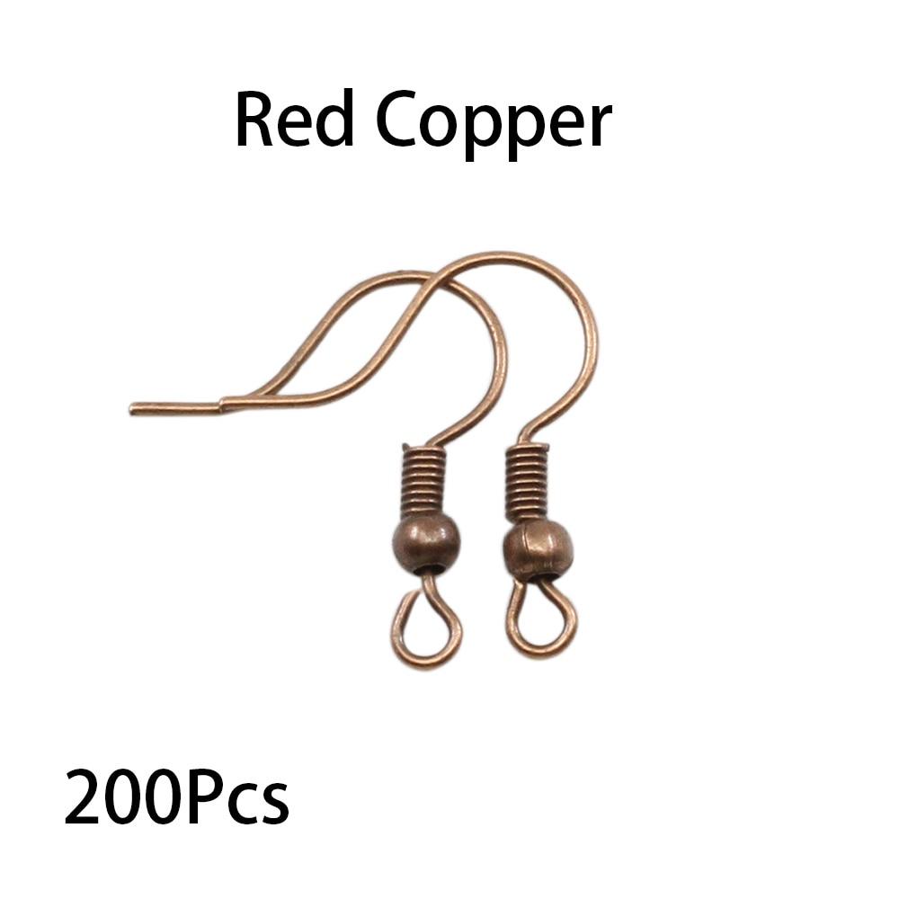 200pcs/lot 20x17mm Earring Findings Ear Clasps Hooks Fittings DIY Jewelry Making Accessories Iron Hook Ear wire Jewelry Supplies 6