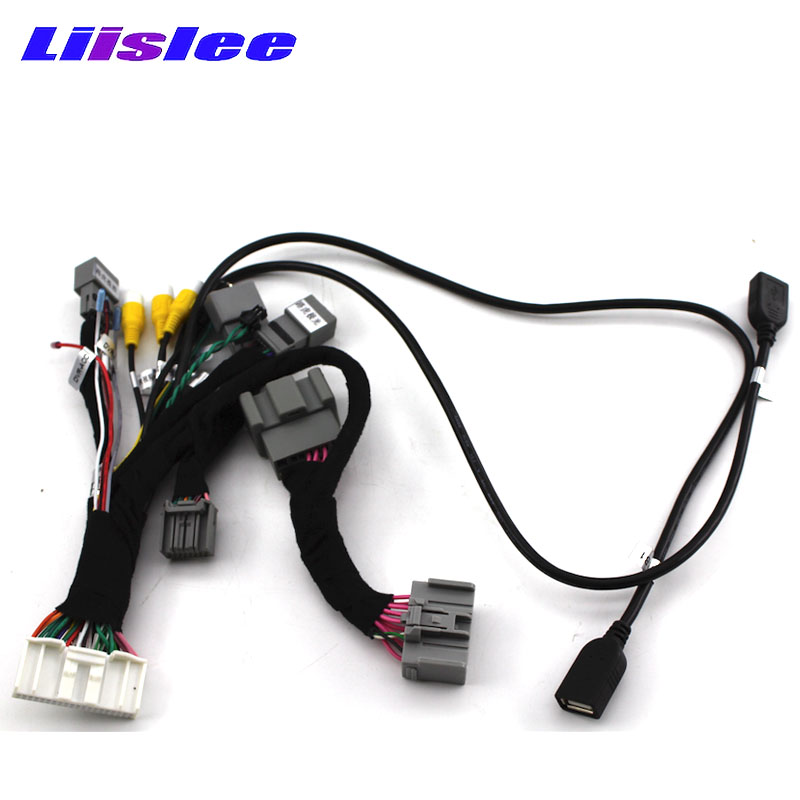 Liislee Android Cable Plug Interface USB Wire For Range Rover Evoque L538