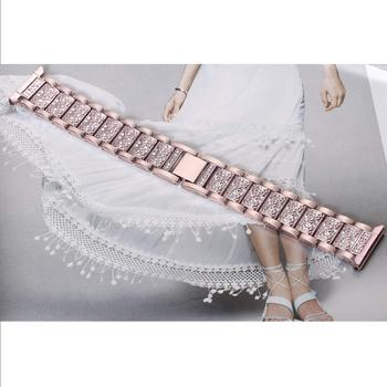 Bling diamond watch band for fitbi