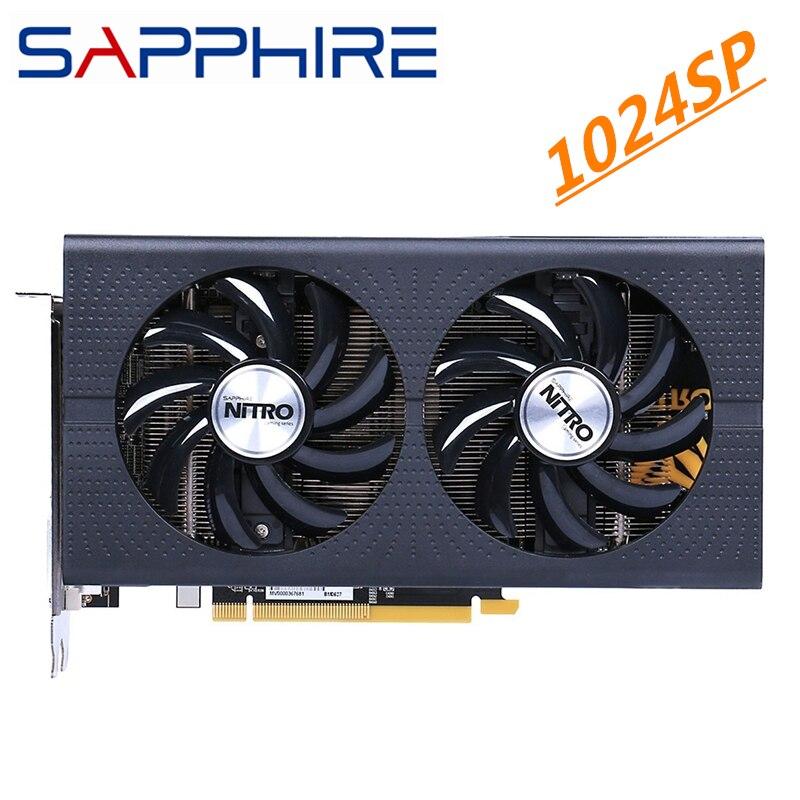 Graphics Card GPU AMD Sapphire Radeon RX 570 8GB Nitro