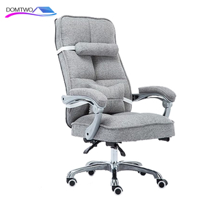 Image 5 - Cloth Computer Chair Home Office Chair Reclining Swivel Massage Chair