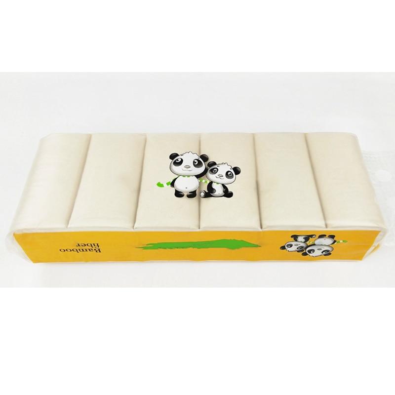 12 Rolls 4 Ply Bamboo Bath Toilet Paper Bulk Rolls Bath Tissue Soft Household Sanitary Paper Home Bathroom Supplies