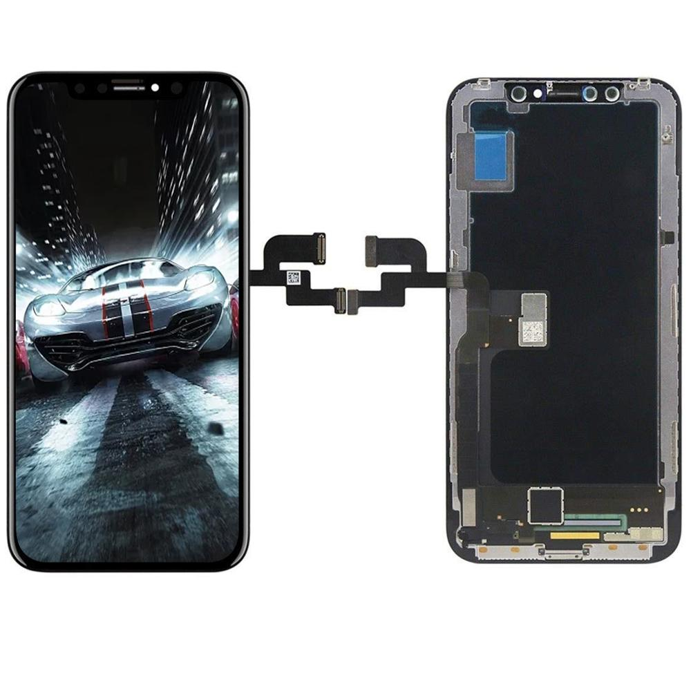 AAA+ Grade For Iphone X OLED XS XR TFT With 3D Touch Digitizer Assembly No Dead Pixel LCD Screen Replacement Display